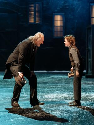 Peter Cratchit in Christmas Carol RSC 2018