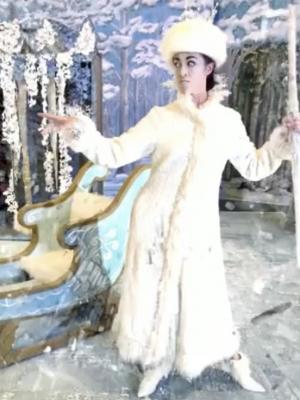 2018 Jadis the White Witch in 'Narnia: The Lion, the Witch and the Wardrobe' for S4K International Ltd (UAE Tour) · By: Emma Chenery