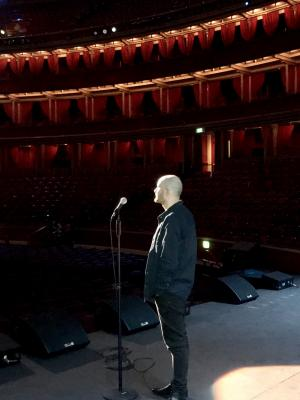 Stand-in for Bill Burr (Netflix special) at Royal Albert Hall