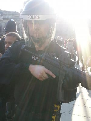 2016 Armed police · By: A friend took it for me
