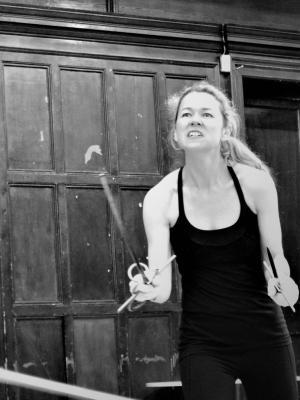 2018 Rapier and Dagger Active shot · By: Andrea Linhova