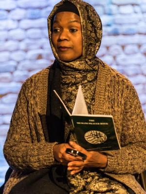 """2019 """"Amina"""" in """"Where We Are:  The Mosque"""" · By: Lidia Crisafulli"""