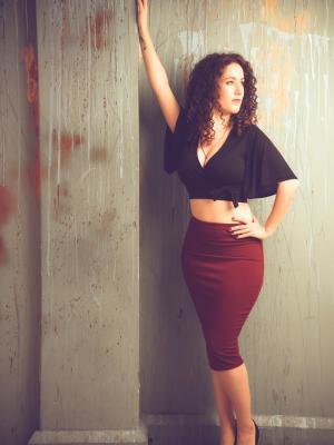 Rachael Pencil Skirt 1