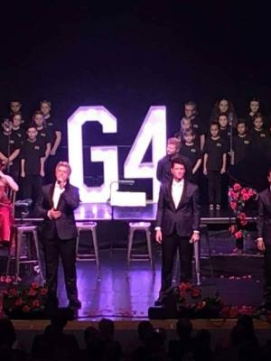G4 concert at the kings Lynn Corn Exchange