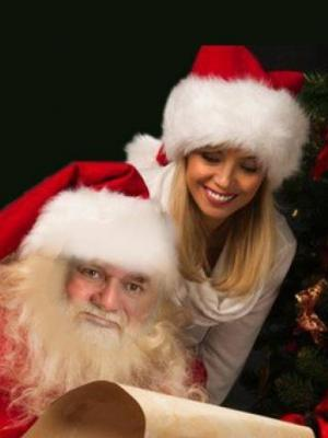 Santa and Mrs. Trump · By: Dr. Barry Wingard