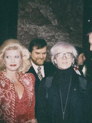 Jim Garrow, Mrs. Trump, Andy Warhol, Donald Trump · By: Madelon DeVoe Tally