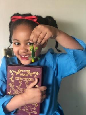 2019 Jessica World book day · By: Priya Dawkins