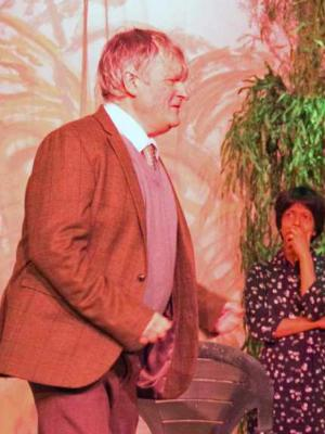 """2018 """"Woman in Mind"""" · By: Pinner Players Theatre Company"""