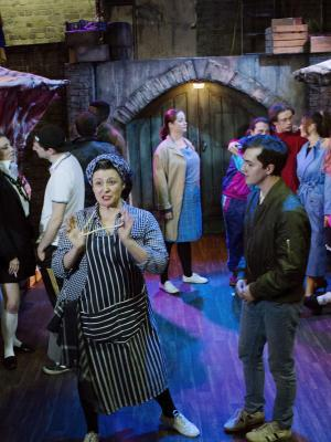 Fat Annie in MARKET BOY at the Union Theatre