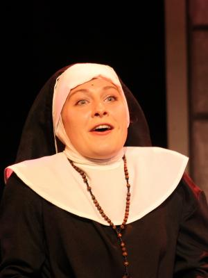 2018 Lizzie Burder as Sister Mary Patrick in Sister Act, Stockwell Playhouse · By: Kenneth Avery-Clark