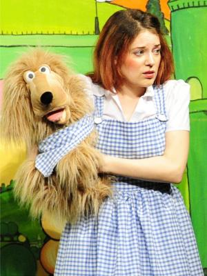 2014 As Dorothy in Wizard of Oz · By: Zip Theatre
