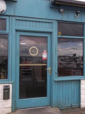 """The Victim (BBC)"" Shop Front Paint Effects · By: Joe Garton"