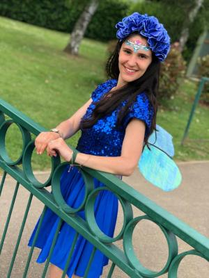 2019 Blue Fairy In Action · By: Daisy Smith