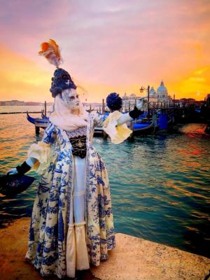 2017 Venice Carnival Costume · By: Emilly Mann