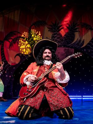 2018 As 'Captain Hook' in Peter Pan, Key theatre 2018 · By: Andrew Billington