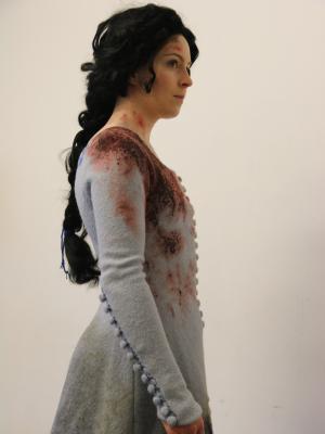 Medieval Dress, Broken Down · By: Catriona Bradley