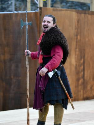 2019 Captain Jamy in Henry V · By: Beth Martyn Smith