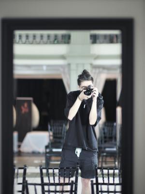 2018 On Set Photo · By: Gongyao Wang