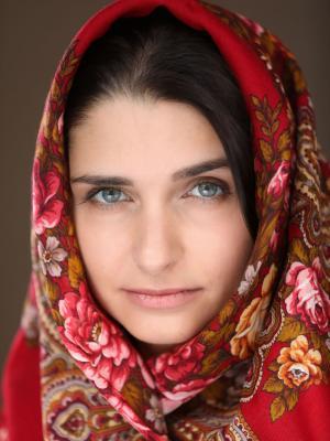 Eastern European/Middle Eastern look