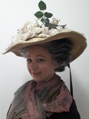 1700s updo Hair Modelling