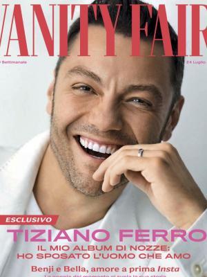 2019 Vanity Fair Italia Cover - Groomer for Tiziano Ferro · By: Peggy Sirota