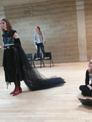 Playing Sir in Awaken, Rose Bruford College