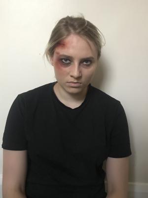 2019 Wound makeup · By: Mariya Lukaszyk