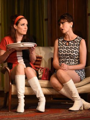 2017 As Cecily Pidgeon (L) In the Odd Couple, Frinton Summer Theatre · By: Christian Davies