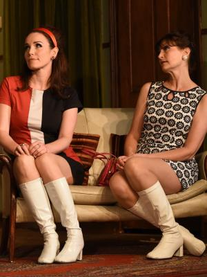 2017 As Cecily Pigeon (L ) in The Odd Couple , Frinton Summer Theatre · By: Christian Davies