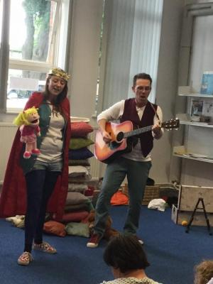 2017 The princess and the Pea, Ashby Library · By: Andrew McWilliam