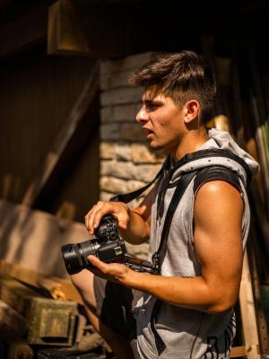 Gaetano being a Photographer