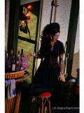 · By: B.Lawley. The Sofa, Costume Design.  Sarah Tynan as Monique.