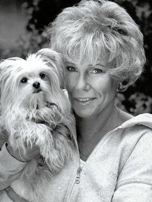2006 Carola with dog · By: Chris Baker