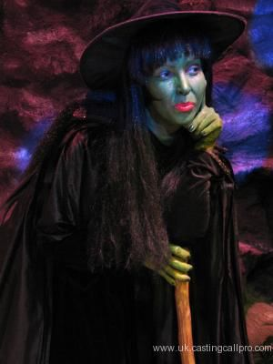 Wicked Witch of the West - The Wonderful World of Oz - Spillers Pantomimes
