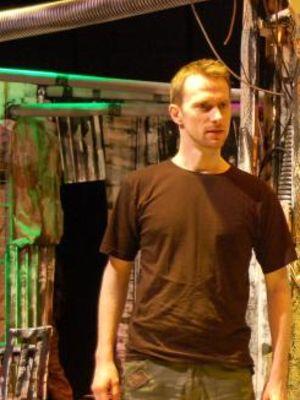 As Banquo in Macbeth, Sparkenhoe Ark Theatre.  2009  · By: Dir: Angela Goring