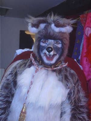 2004 As Wily Wolf in Little Red Riding Hood at The Georgian Theatre, Richmond · By: Nigel Peever