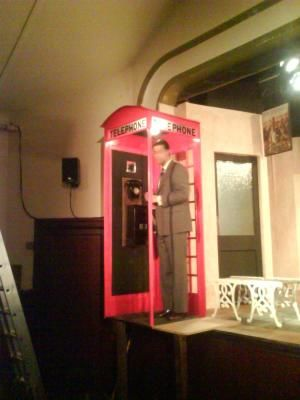 Phone Box constructed for Frinton · By: Colin Newton
