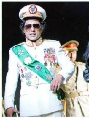 2007 Gaddafi a Living Myth, E.N.O · By: Tristam Kenton