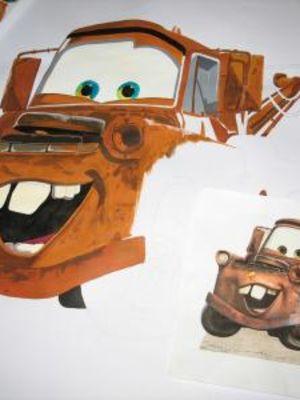 Cars character 'Mater' · By: Roxane Thomas
