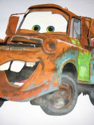 Cars character 'Mater' finished · By: Roxane Thomas