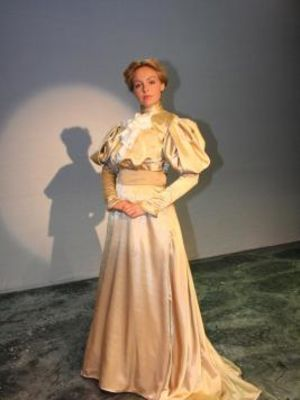 """1800s gown from """"Flirt"""" by Mucha"""