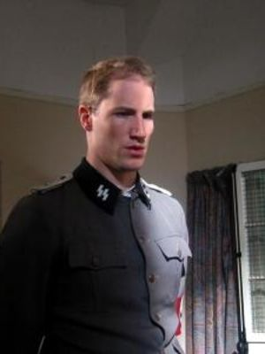 Adrian as Lt. Hans Feidal in 'Alkemade'