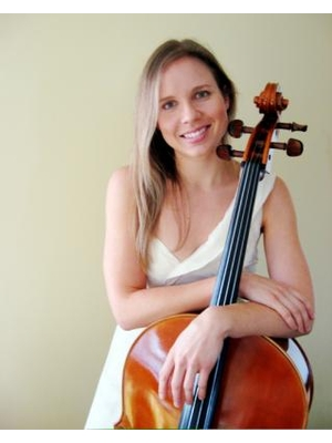 cellist Andrea Mundy · By: Lorraine Mundy