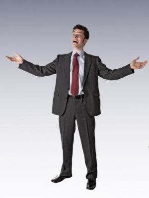 2011 Modelling Stock (Over-excited Businessman) · By: Howard Kingsnorth