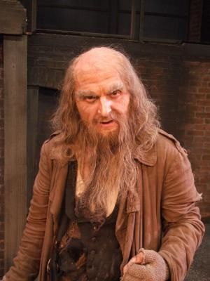 2011 As Fagin in Oliver! At The Gordon Craig Theatre Stevenage. · By: Nigel Peever