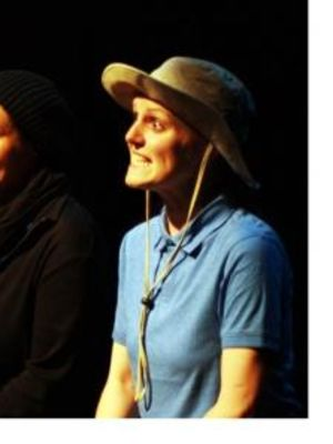 Mark Frampton, Katy Slater, Claire Dean in Islanders - Best Fringe Production - Manchester Evening News Theatre Awards