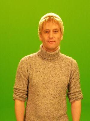 2011 Farmer (blonde wig) - 'Quafco', green screen shoot nov. 2011