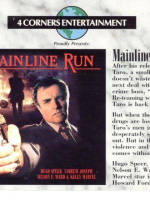 Film Poster Mainline Run