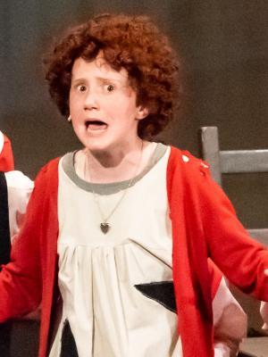 Annie in Annie Jr, Leatherhead Theatre.