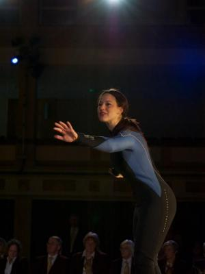 As Ilona in Flight Paths opera